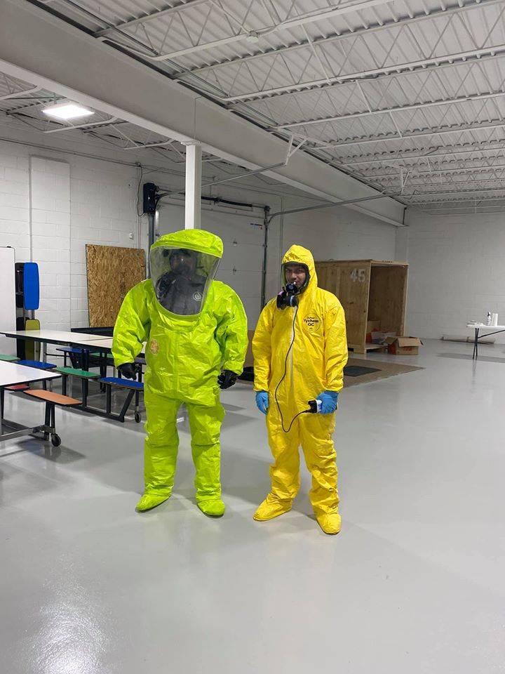 biohazard remediation service